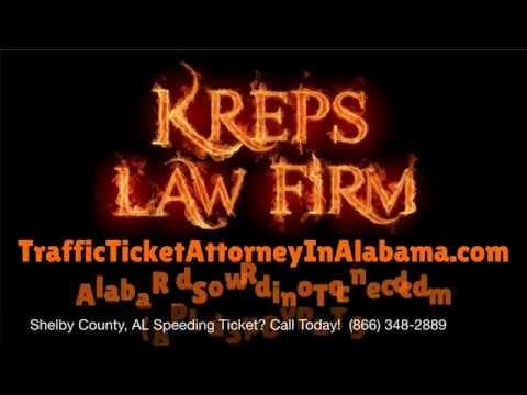 Help Shelby County, Alabama Traffic Speeding Ticket Lawyer - Best Shelby County, AL Traffic Attorney