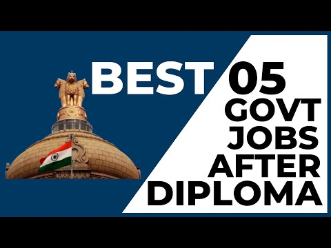 TOP 5 Government Job After Diploma Engineering   Jobs After Diploma   Jobs After Polytechnic