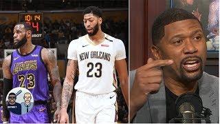 Lakers' 'Godfather' offer for Anthony Davis still doesn't impress Jalen Rose   Jalen & Jacoby