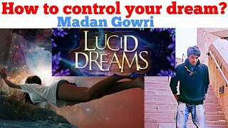 How to control your dream?   Tamil   Madan Gowri