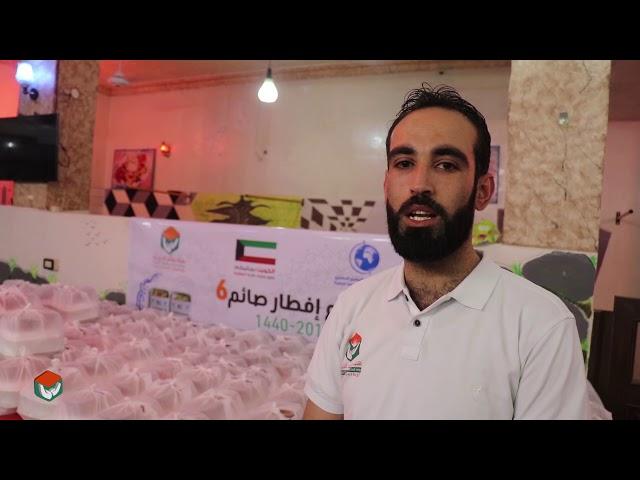 تقديم 1200 وجبة لأهلنا النازحين في مدينة الباب_هيئة ساعد الخيرية