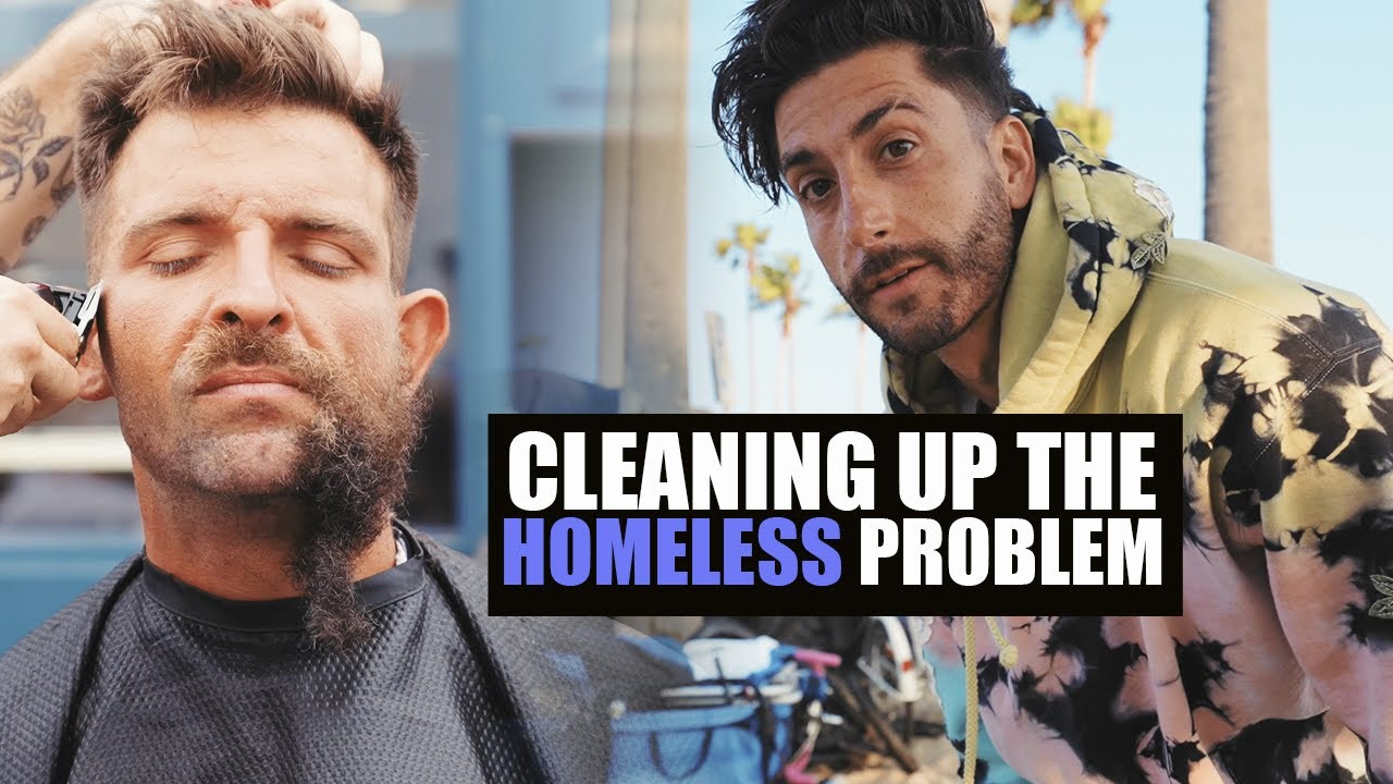 CLEANING UP THE HOMELESS - VENICE BEACH