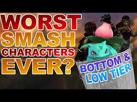 Mew2King's Brawl Tier List: The WORST Smash Characters EVER?