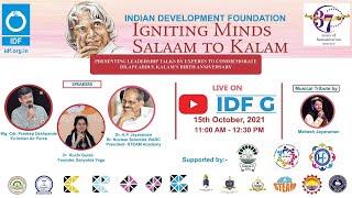 Igniting Minds - Salaam to Kalam : Celebrating Dr. APJ Abdul Kalam's birthday