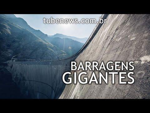 Barragens gigantes pelo mundo