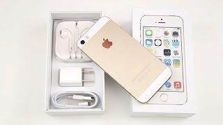 Déballage et présentation de l'Apple iPhone 5s GOLD (Unboxing) !