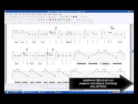 pegasus fantasy guitar pro neoclassical tab demiang