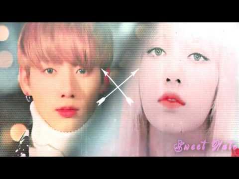 ☾●We're gonna let it burn●☽  Lisa & Jungkook