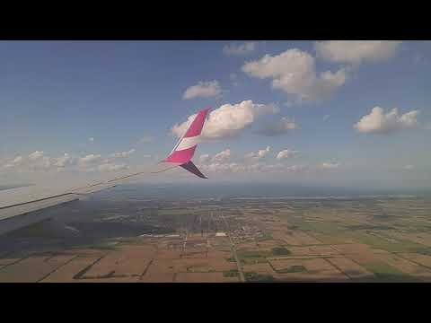 Swoop Flight 107: Landing At Hamilton Airport