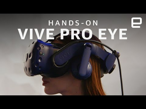 HTC Vive Pro Eye Hands-On: Eye tracking technology in virtual reality