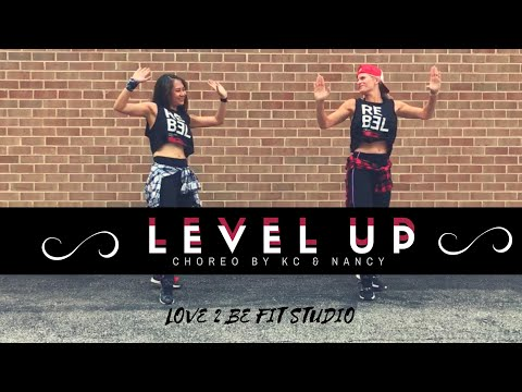 LEVEL UP 👆🏻 BY CIARA- 💥ZUMBA / HIPHOP DANCE FITNESS CHOREO by KC & Nancy