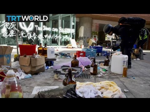 Designer Upcycles Trash From The HK Protests | Money Talks