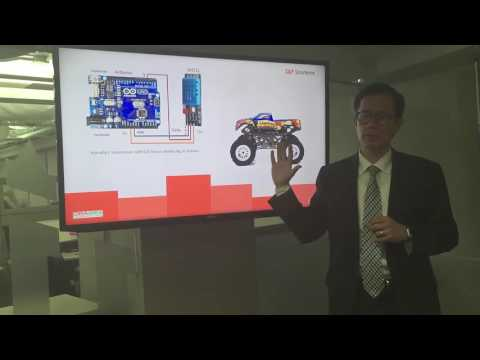 Oracle Cloud Service integrated demo. Air Pollution Control. S&P Solutions