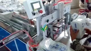 Semi auto Napkin Paper Packing  Machine Baby Diaper packer Sanitary Towel Packing system