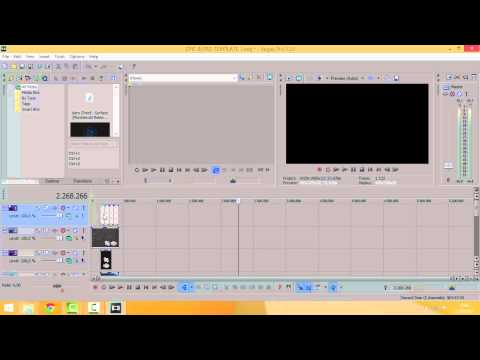 how to make a video go faster in sony vegas
