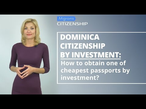 Dominica Citizenship By Investment 👉Cost Of Dominica Passport, Benefits, Application Process