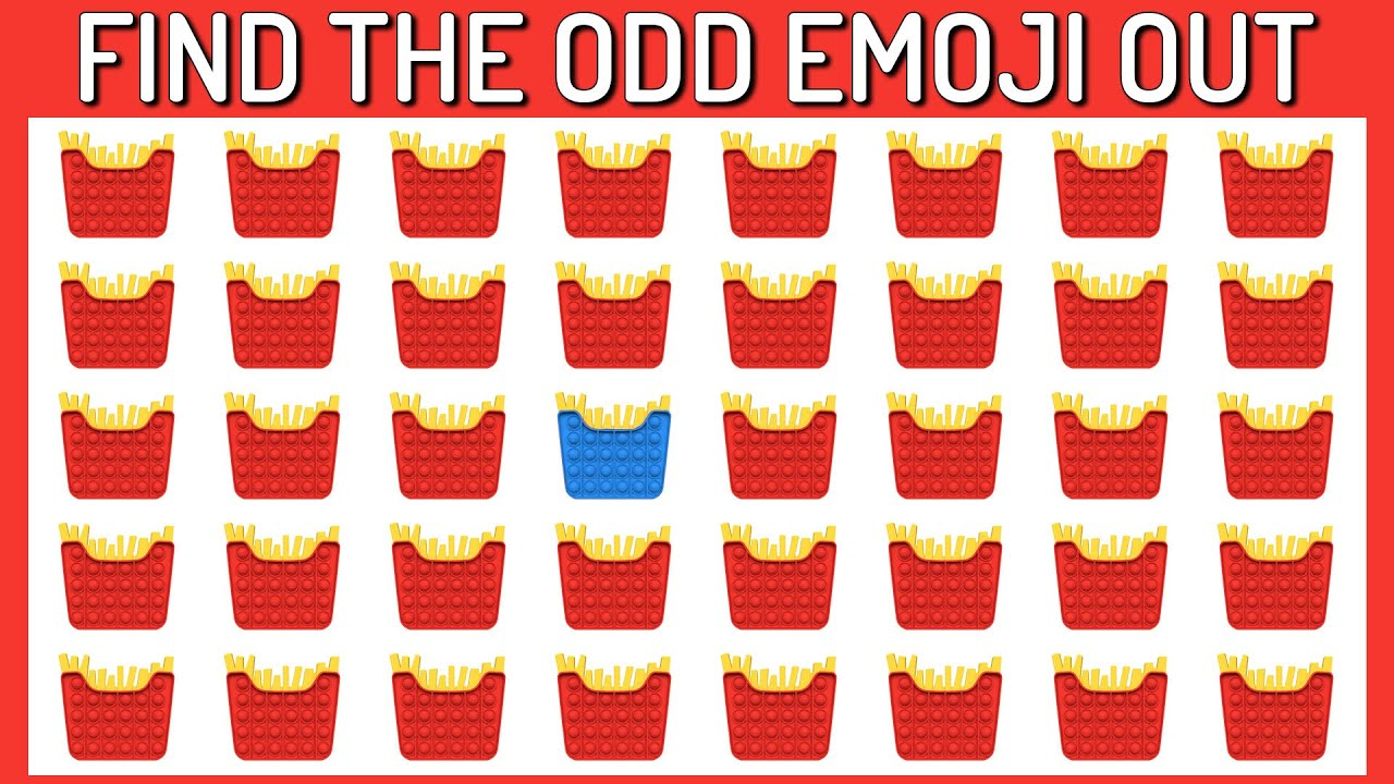 Download HOW GOOD ARE YOUR EYES #182 l Find The Odd Emoji Out l Emoji Puzzle Quiz