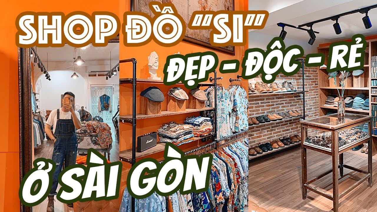 Săn đồ SECOND HAND ĐẸP ĐỘC RẺ ở tiệm quần áo vintage mình thích nhất ở Sài Gòn || ĂN SẬP SÀI GÒN
