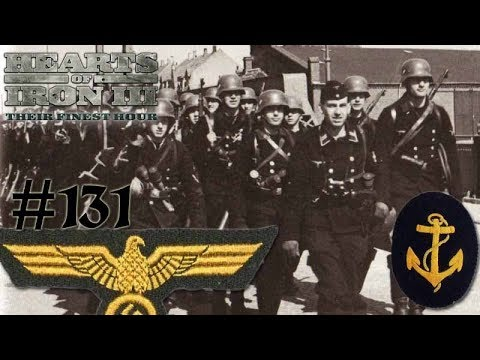 Hearts of Iron 3: Black ICE 8.6 - 131 (Germany) Kriegsmarine Infantrie Units Invade!