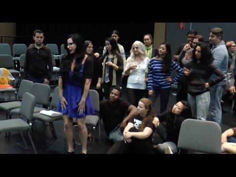 "Opera at Santa Monica College: Rehearsing ""Carmen"""