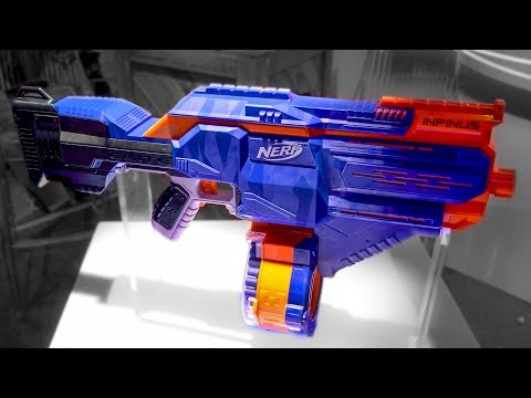 2018 Nerf Elite Infinus | Integrated Magazine Loader!?