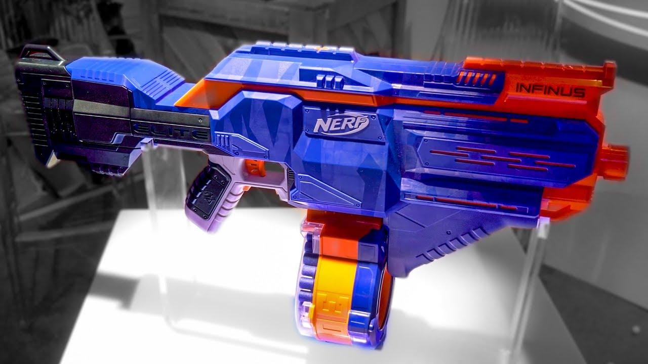 2018 Nerf Elite Infinus | Integrated Magazine Loader!?
