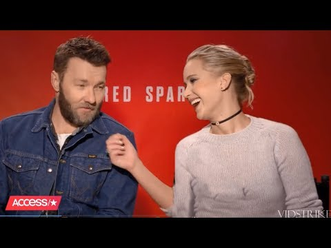 Jennifer Lawrence Can't Stop Flirting With Joel Edgerton (Red Sparrow Co-Star)