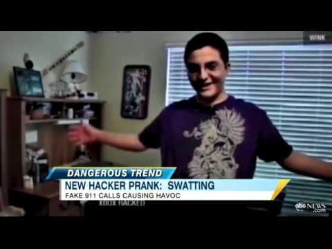 swatting prank to mobilize swat teams baffles police youtube
