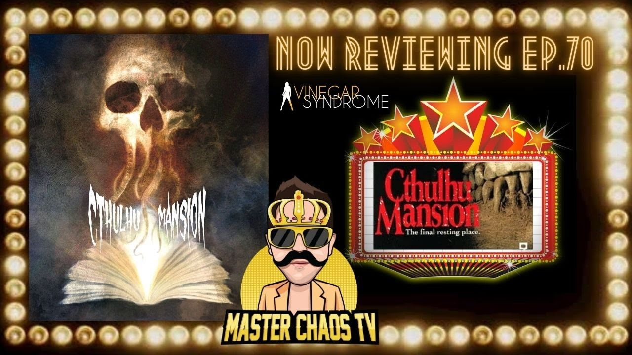 CTHULU MANSION Spoiler-Free Movie Review (Vinegar Syndrome/ January 2021)