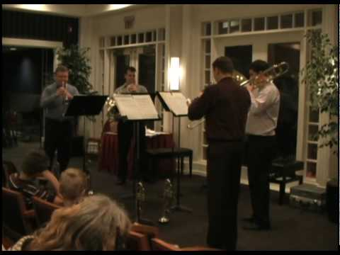 Ewald Brass Performs at Aurora School of Music Recital