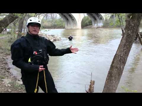 5 steps to water rope rescues