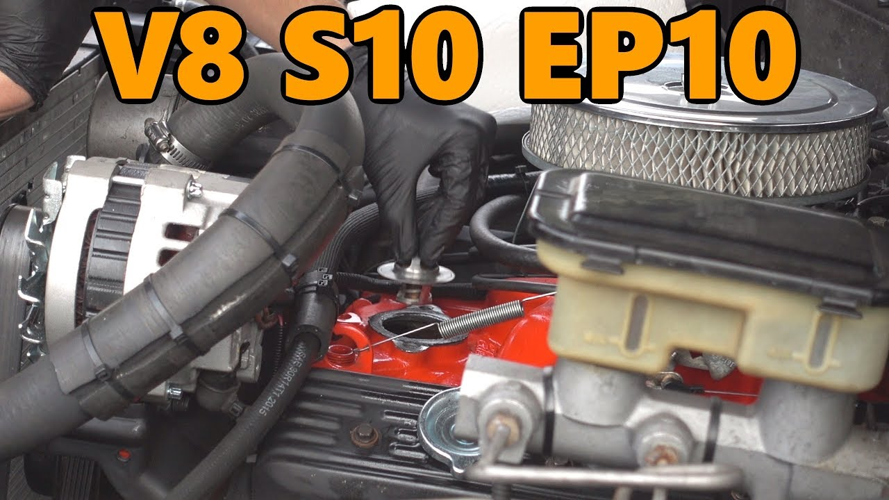 V8 S10 Fuel Pump Fix and Thermostat Swap (Ep 10)