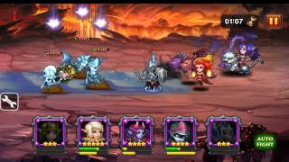 heroes charge crusade finish all 15 stages level 7x