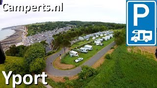 Camping Le Rivage, Yport, Basse Normandie, Frankrijk (English subtitled)