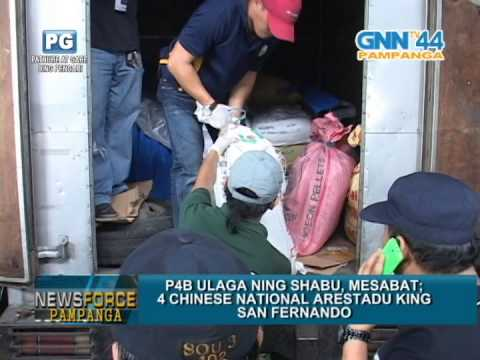 DRUG RAID IN GREENVILLE AND RICHTOWN SUBDIVISION SAN FERNANDO PAMPANGA