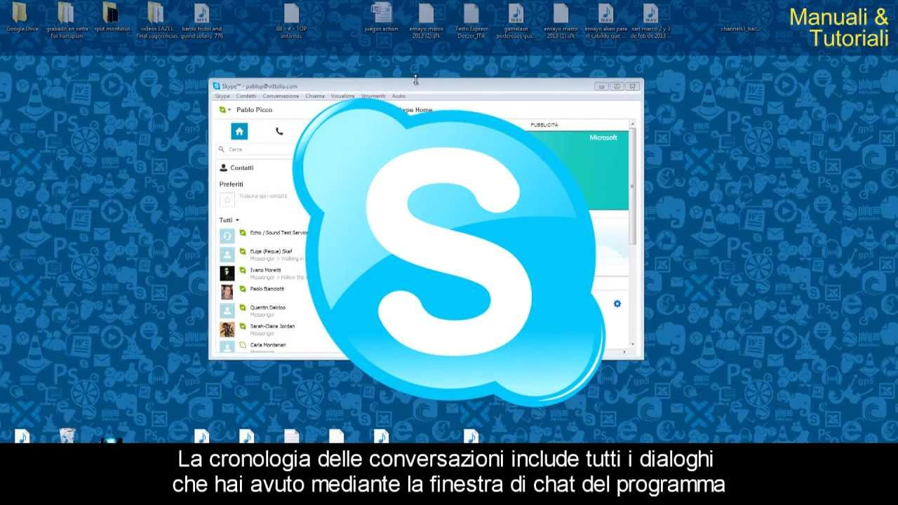 Come eliminare la cronologia Skype | Droppergen