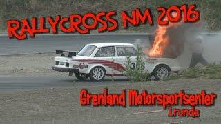 Rallycross NM 2016 - 1.runde - Grenland