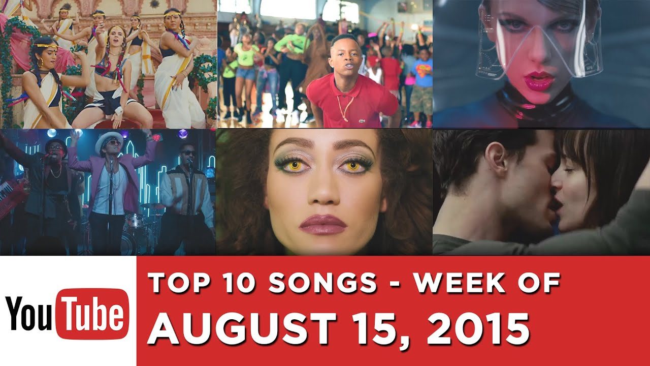 youtube music top 10 august The most popular songs on youtube the most popular songs on youtube billboard subscribe subscribe now billboardcom is a member of billboard music.