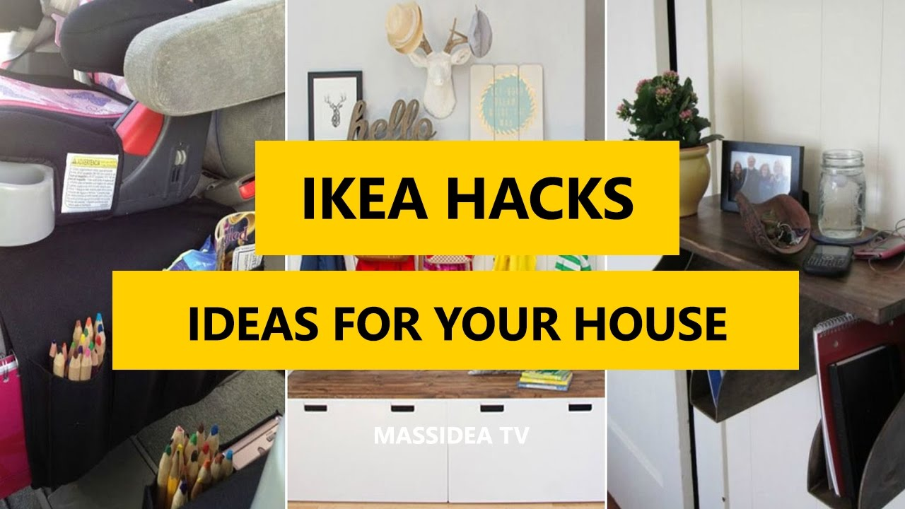 50+ Best IKEA HACKS Make Up Ideas for Your House 2017 - YouTube