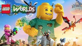 LEGO Worlds - играю с Тимуром