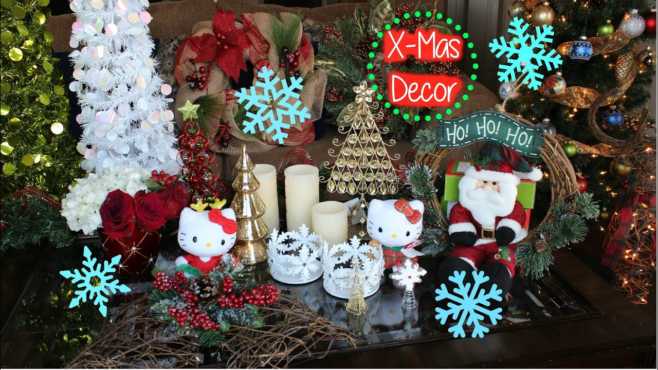 christmas decorating michaels crafts holdiay decor haul