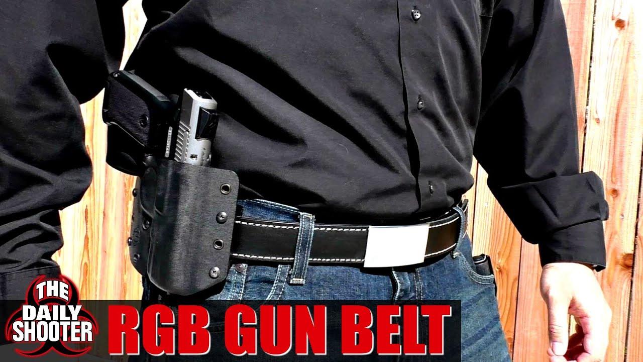 RGB Ratchet Gun Belt Review