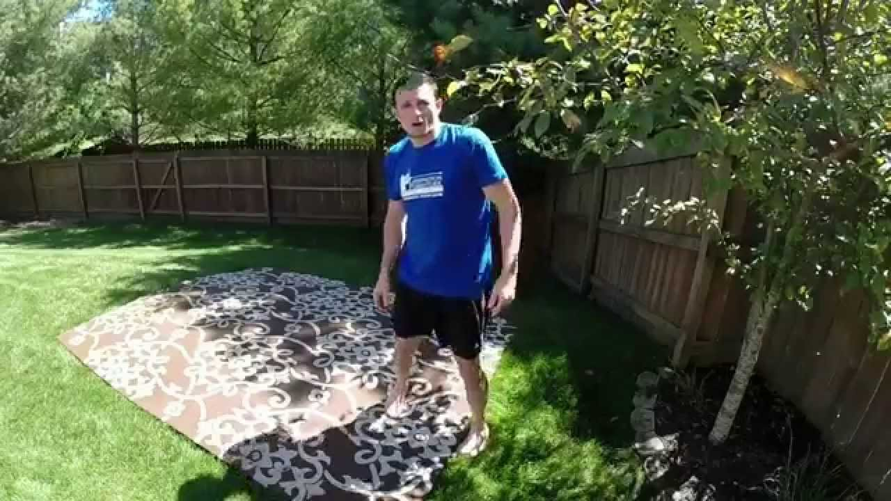 outdoor rug cleaning youtube