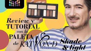 Review -Paleta Kat Von D - Shade & Light- Tutorial