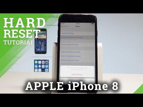 How to Factory Reset iPhone 8 - Wipe Data / Restore iOS Defaults |HardReset.Info