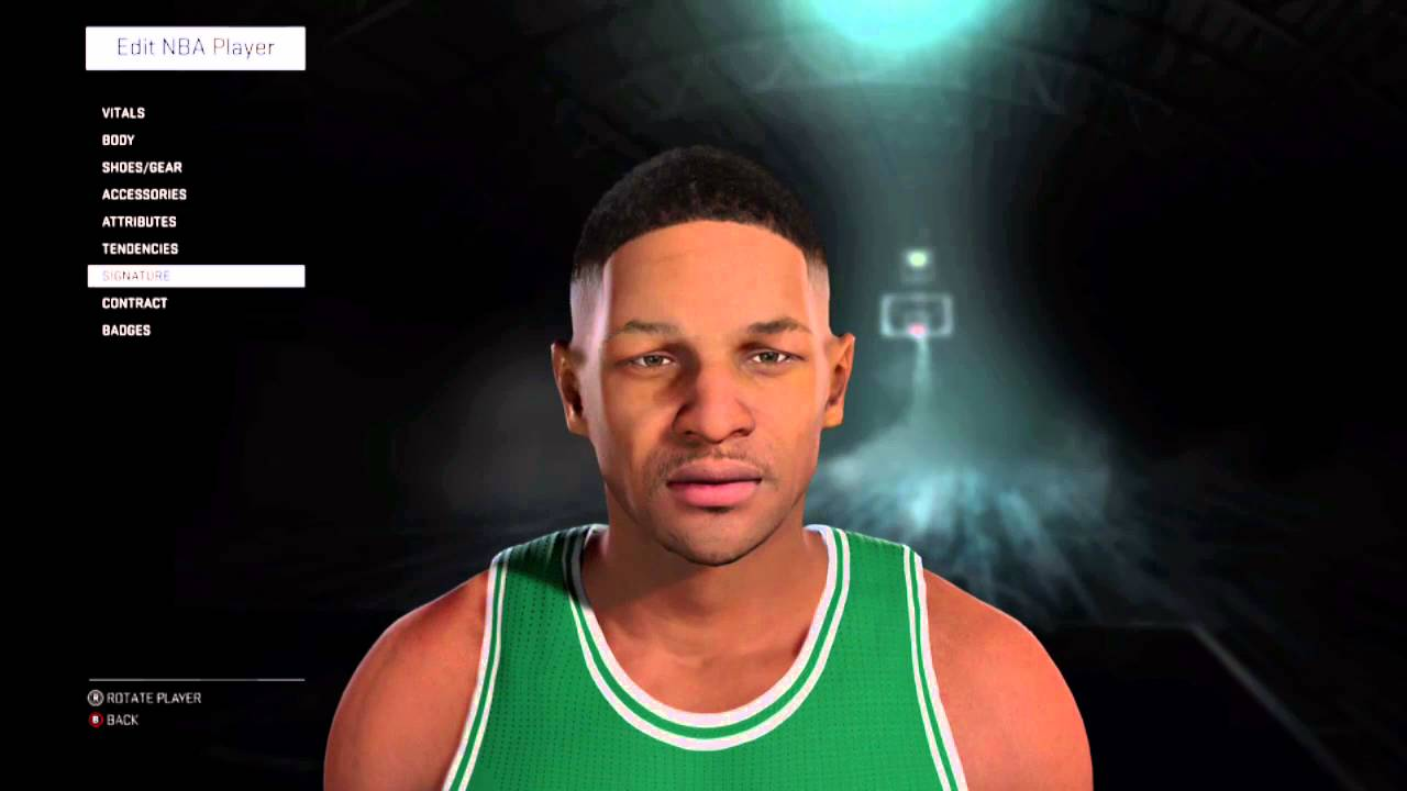 Reggie Lewis NBA 2K16 Created Player 91 92 Season