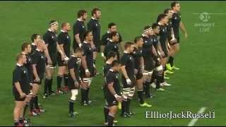 Rugby All Blacks NZ Haka 2012