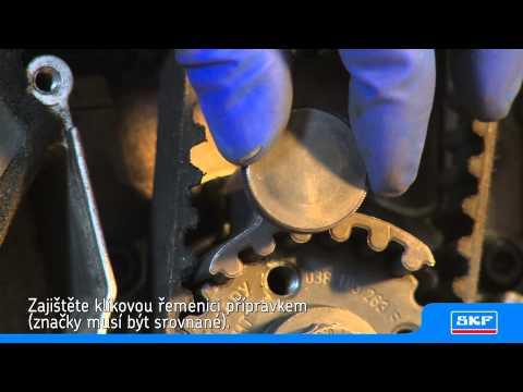 SKF - Montáž sady SKF pro rozvodový řemen s vodní pumpou VKMC 01250-1 na Volkswagen Passat 1.9 TDI