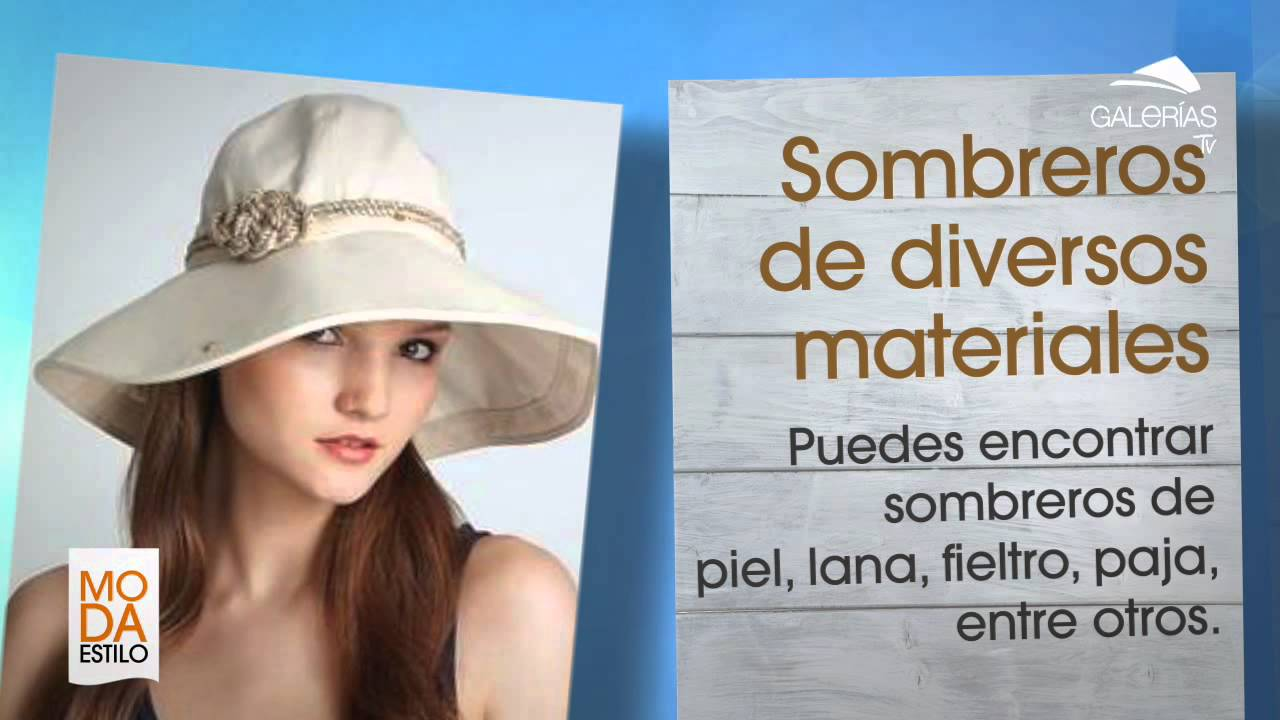 SOMBREROS DE VERANO - YouTube 3c13bfaed3b