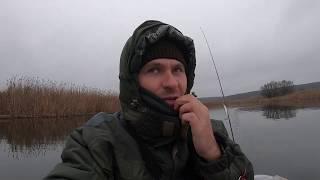 Рыбалка на трофейную щуку поздней осенью